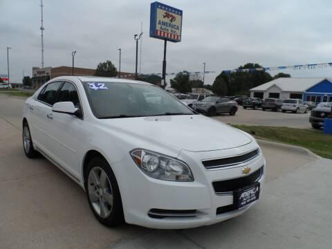 2012 Chevrolet Malibu for sale at America Auto Inc in South Sioux City NE