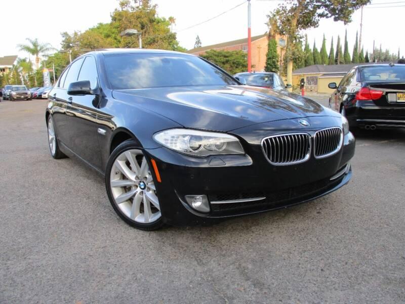 2012 BMW 5 Series for sale at WESTERN MOTORS in Santa Ana CA