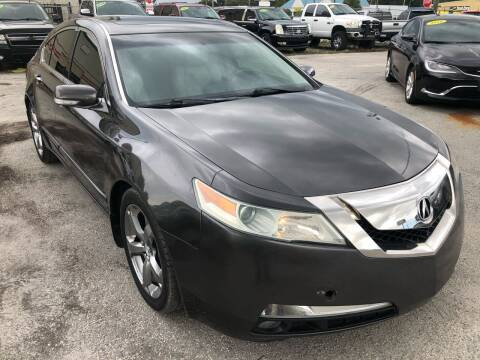 2010 Acura TL for sale at Marvin Motors in Kissimmee FL