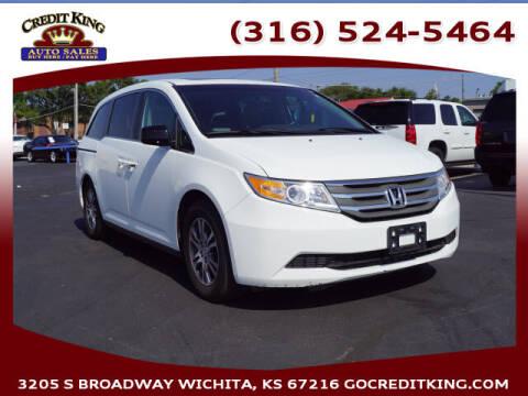 2011 Honda Odyssey for sale at Credit King Auto Sales in Wichita KS