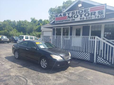 2008 Lexus ES 350 for sale at EASTSIDE MOTORS in Tulsa OK