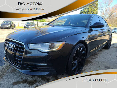 2012 Audi A6 for sale at Pro Motors in Fairfield OH