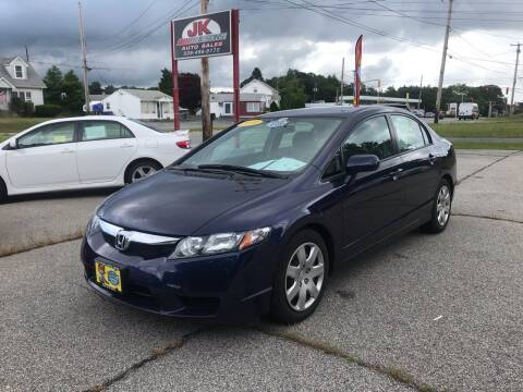 2010 Honda Civic for sale at JK & Sons Auto Sales in Westport MA