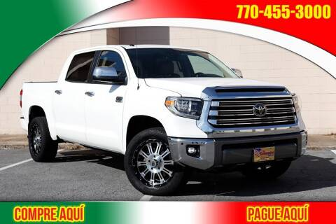 2019 Toyota Tundra for sale at El Compadre Trucks in Doraville GA