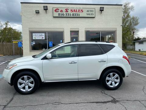 2007 Nissan Murano for sale at C & S SALES in Belton MO