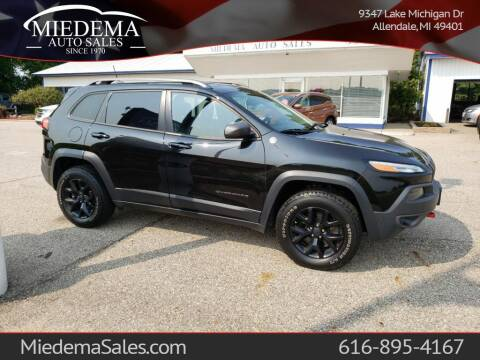 2016 Jeep Cherokee for sale at Miedema Auto Sales in Allendale MI
