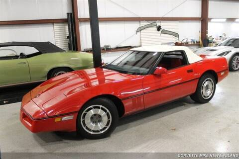 1987 Chevrolet Corvette for sale at Corvette Mike New England in Carver MA