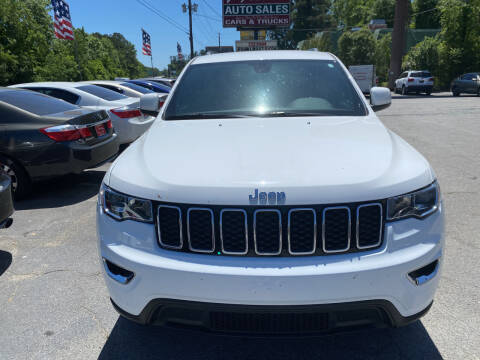 2018 Jeep Grand Cherokee for sale at J Franklin Auto Sales in Macon GA