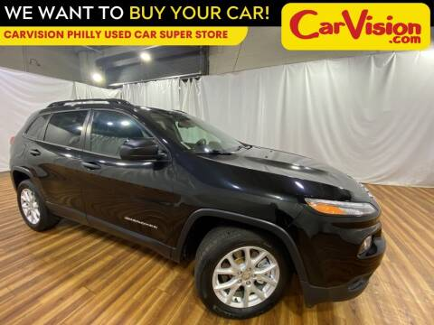 2016 Jeep Cherokee for sale at Car Vision Mitsubishi Norristown - Car Vision Philly Used Car SuperStore in Philadelphia PA