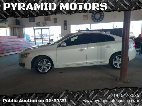 2014 Volvo S60 for sale at PYRAMID MOTORS - Pueblo Lot in Pueblo CO
