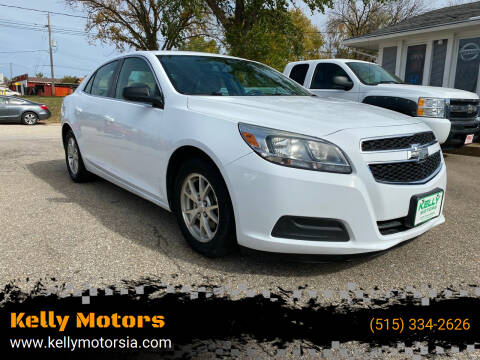 2013 Chevrolet Malibu for sale at Kelly Motors in Johnston IA