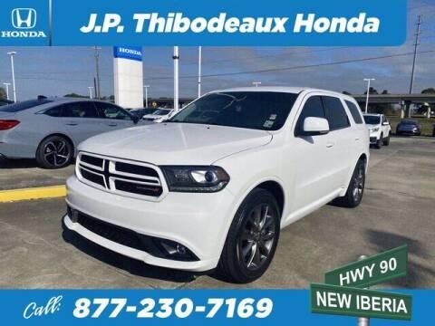 2017 Dodge Durango for sale at J P Thibodeaux Used Cars in New Iberia LA