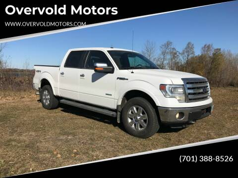 2013 Ford F-150 for sale at Overvold Motors in Detroit Lakes MN