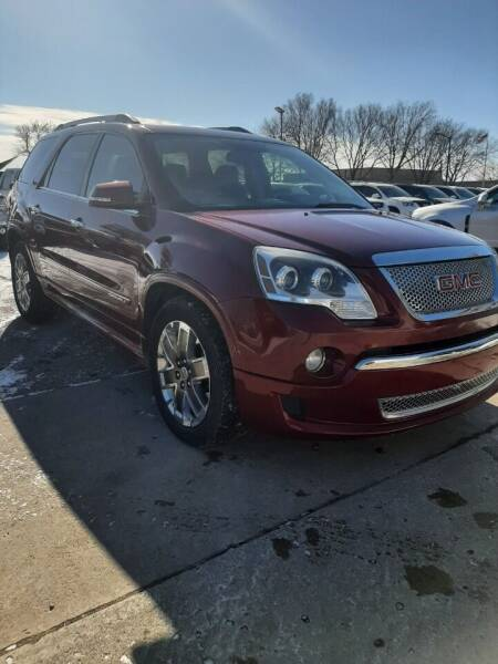 2011 GMC Acadia for sale at JR Auto in Brookings SD