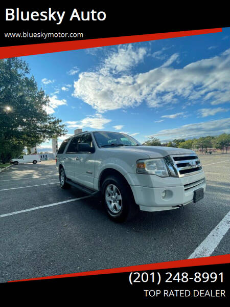 2008 Ford Expedition for sale at Bluesky Auto in Bound Brook NJ