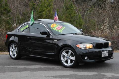 2013 BMW 1 Series for sale at McMinn Motors Inc in Athens TN