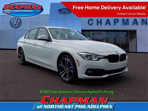 2018 BMW 3 Series for sale at CHAPMAN FORD NORTHEAST PHILADELPHIA in Philadelphia PA