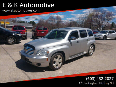 2007 Chevrolet HHR for sale at E & K Automotive in Derry NH