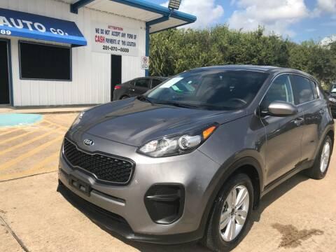 2019 Kia Sportage for sale at Discount Auto Company in Houston TX
