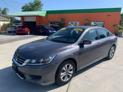 2014 Honda Accord for sale at Galaxy Auto Service, Inc. in Orlando FL