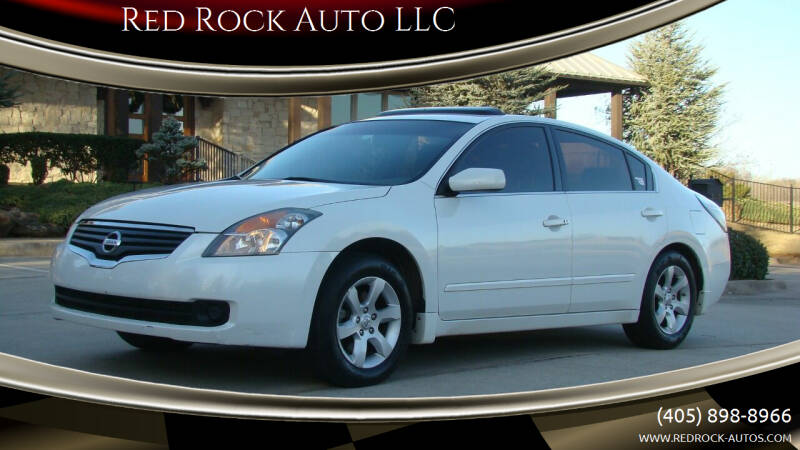 2008 Nissan Altima for sale at Red Rock Auto LLC in Oklahoma City OK