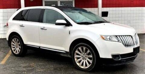 2013 Lincoln MKX for sale at Top Line Import of Methuen in Methuen MA