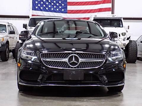 2015 Mercedes-Benz CLS for sale at Texas Motor Sport in Houston TX