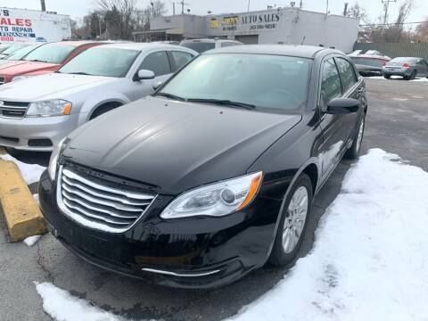 2014 Chrysler 200 for sale at Simon's Auto Sales in Detroit MI