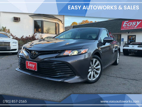 2019 Toyota Camry for sale at Easy Autoworks & Sales in Whitman MA