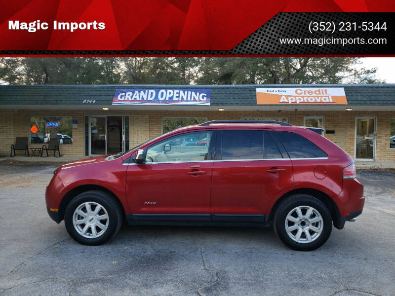 2007 Lincoln MKX for sale at Magic Imports in Melrose FL