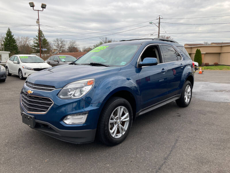 2016 Chevrolet Equinox for sale at Majestic Automotive Group in Cinnaminson NJ
