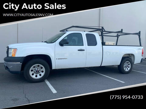 2007 GMC Sierra 1500 for sale at City Auto Sales in Sparks NV