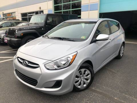 2017 Hyundai Accent for sale at Best Auto Group in Chantilly VA