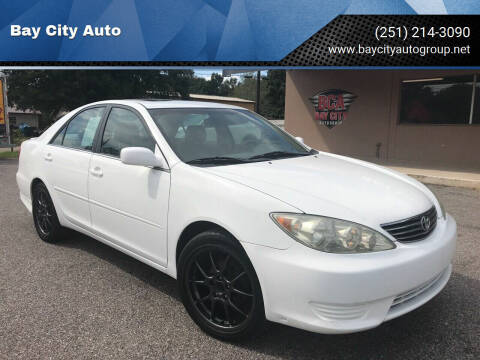 2006 Toyota Camry for sale at Bay City Auto's in Mobile AL