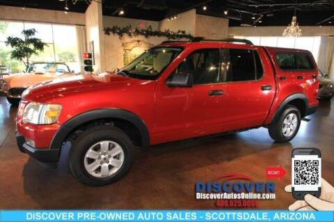 2010 Ford Explorer Sport Trac for sale at Discover Pre-Owned Auto Sales in Scottsdale AZ