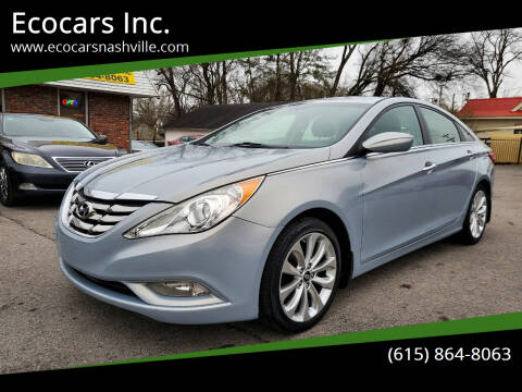 2012 Hyundai Sonata for sale at Ecocars Inc. in Nashville TN