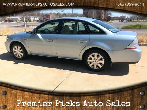 2009 Ford Taurus for sale at Premier Picks Auto Sales in Bettendorf IA