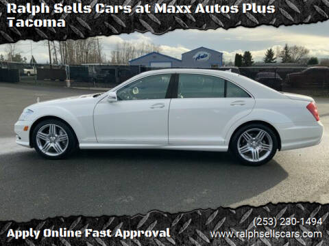 2013 Mercedes-Benz S-Class for sale at Ralph Sells Cars at Maxx Autos Plus Tacoma in Tacoma WA