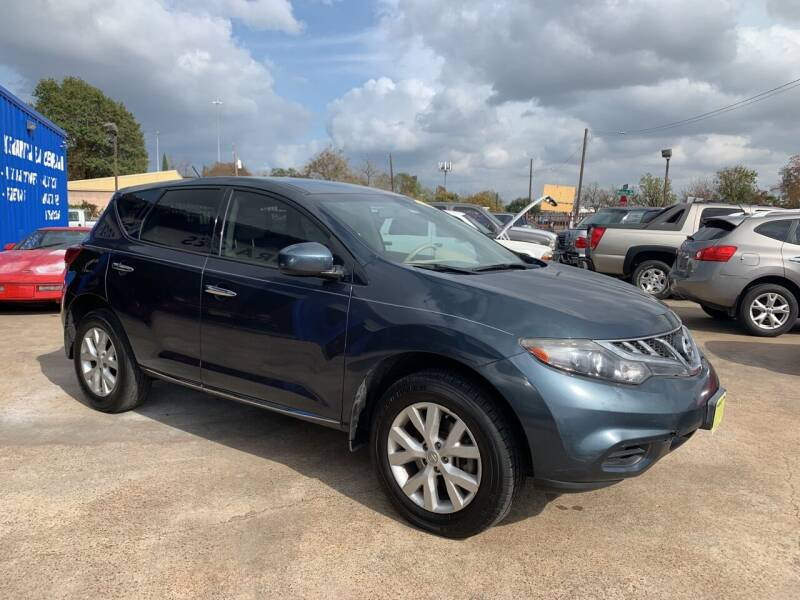2011 Nissan Murano for sale at JORGE'S MECHANIC SHOP & AUTO SALES in Houston TX
