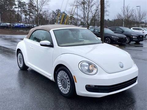 2013 Volkswagen Beetle Convertible for sale at CU Carfinders in Norcross GA