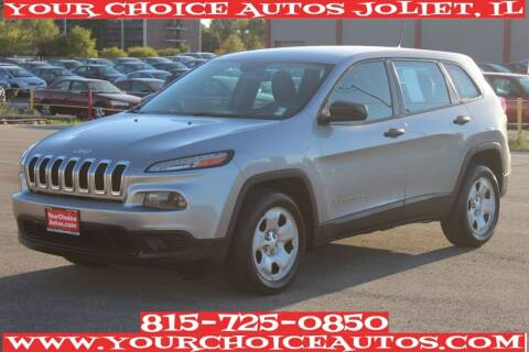 2014 Jeep Cherokee for sale at Your Choice Autos - Joliet in Joliet IL