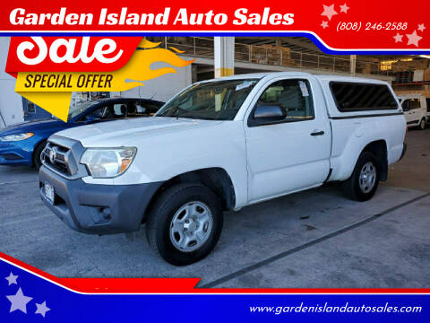 2014 Toyota Tacoma for sale at Garden Island Auto Sales in Lihue HI