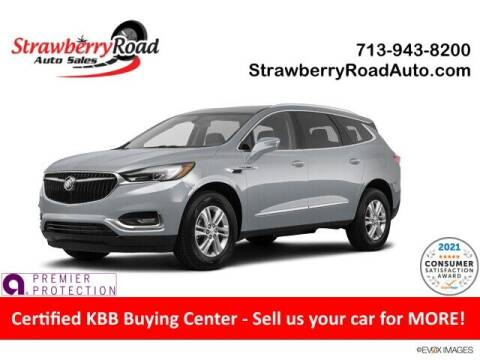2020 Buick Enclave for sale at Strawberry Road Auto Sales in Pasadena TX