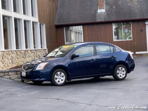 2012 Nissan Sentra for sale at Cupples Car Company in Belmont NH