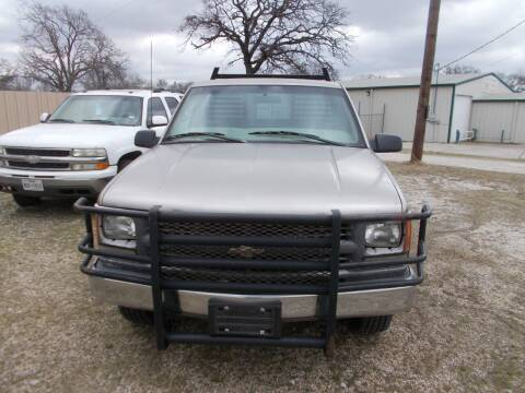 2000 Chevrolet C/K 3500 Series for sale at OTTO'S AUTO SALES in Gainesville TX