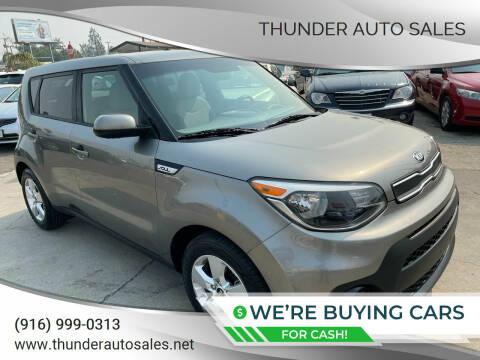 2017 Kia Soul for sale at Thunder Auto Sales in Sacramento CA