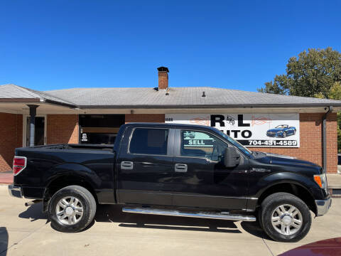 2010 Ford F-150 for sale at R & L Autos in Salisbury NC