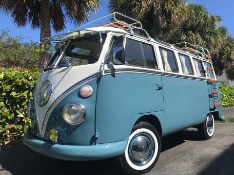 1972 Volkswagen Vanagon for sale at DS Motors in Boca Raton FL