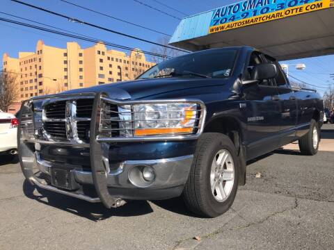 2006 Dodge Ram Pickup 1500 for sale at Auto Smart Charlotte in Charlotte NC