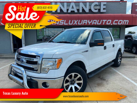 2014 Ford F-150 for sale at Texas Luxury Auto in Cedar Hill TX